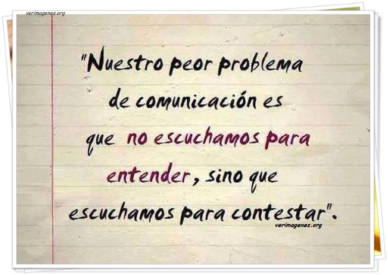 Nuestro peor problema de comunicación