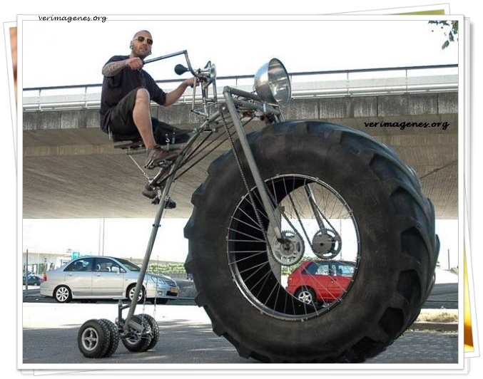 Espectacular bicicleta