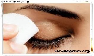 Desmaquillador para ojos casero