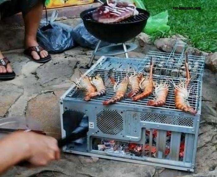 Al grill