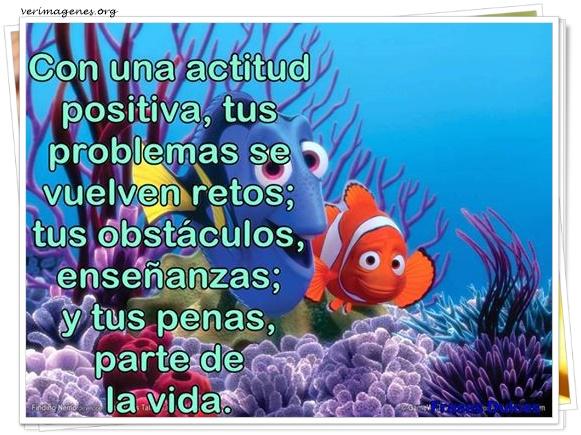 Con una actitud positiva