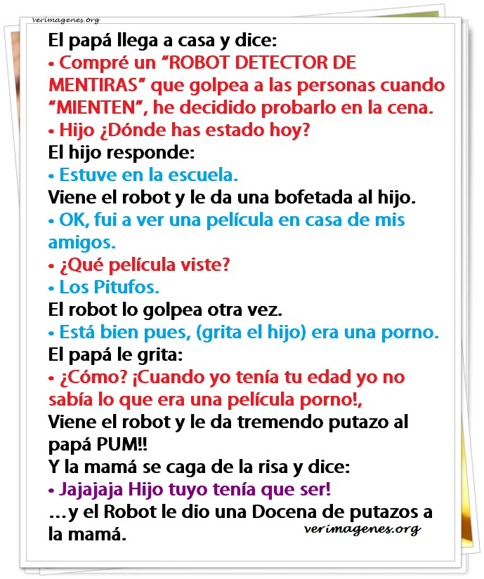 Compre un robot detector de mentiras
