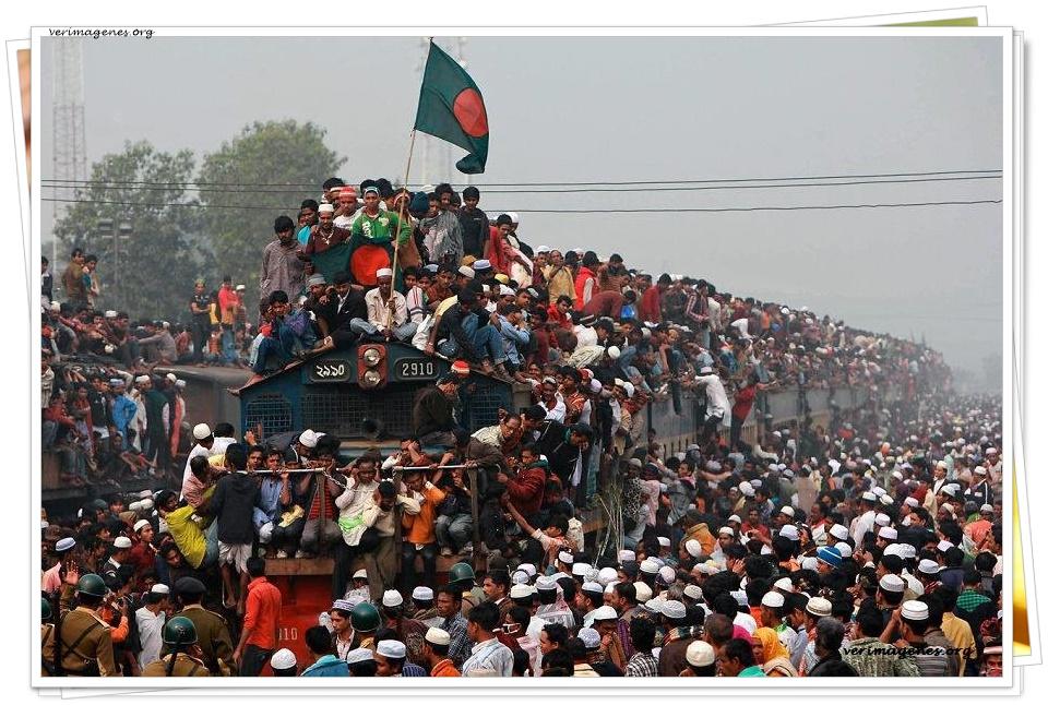 Viajando en Tren