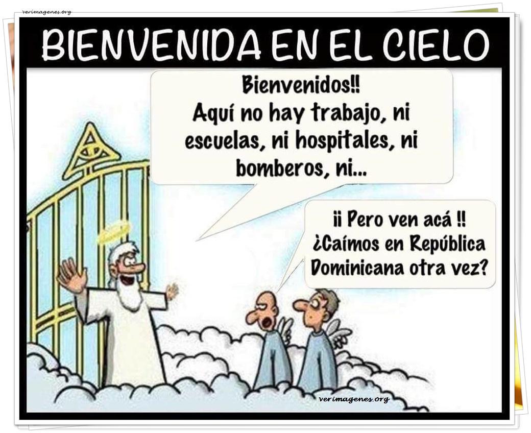 Bienvenida en el cielo