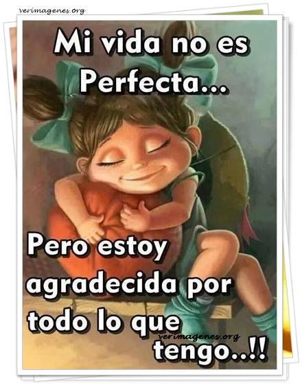 Mi vida no es perfecta