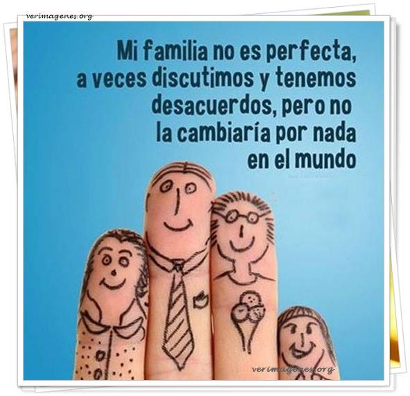 Mi familia no es perfecta