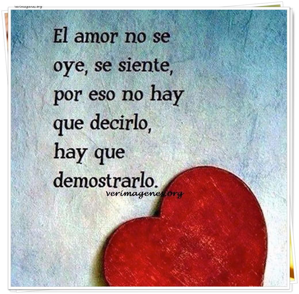 Imagen El Amor No Se Oye