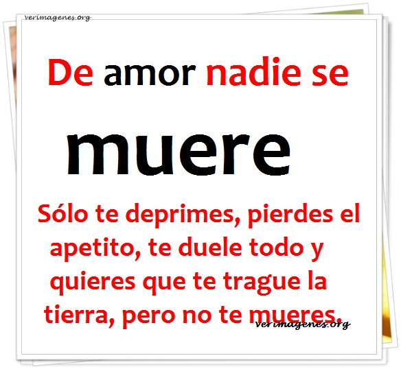 De amor nadie se muere