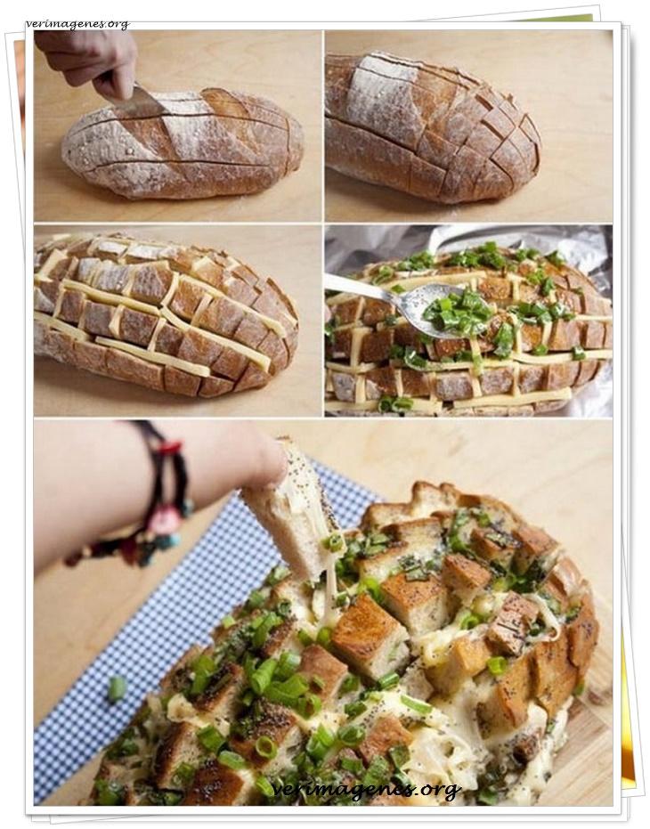 Bocaditos de queso con hiervas al horno