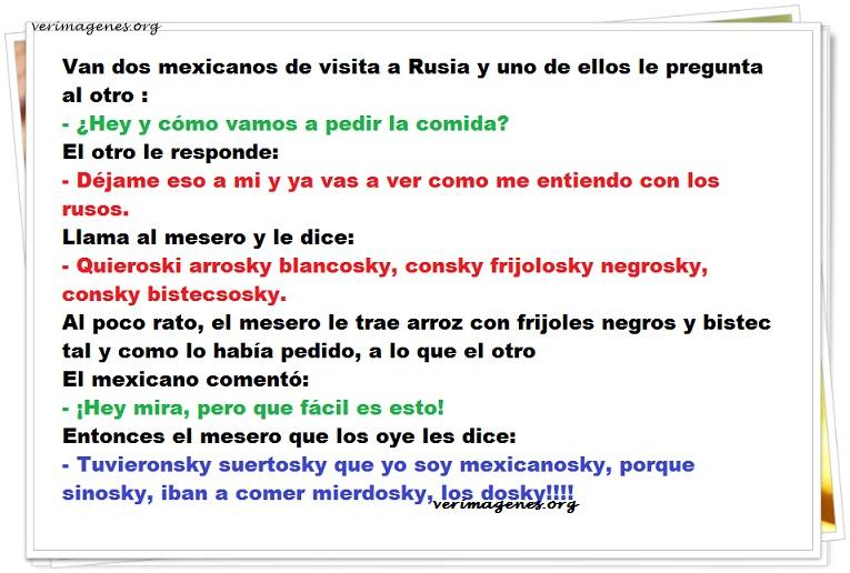 Imagen Van dos mexicanos de visita a Rusia