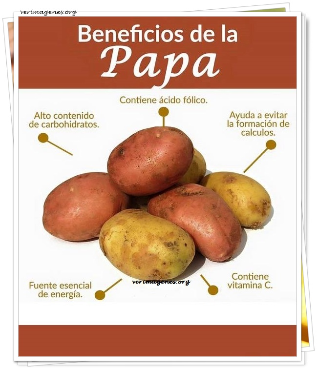 Beneficios de la papa