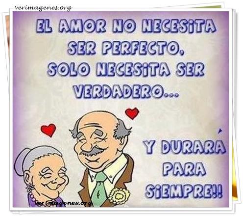 El amor no necesita ser perfecto