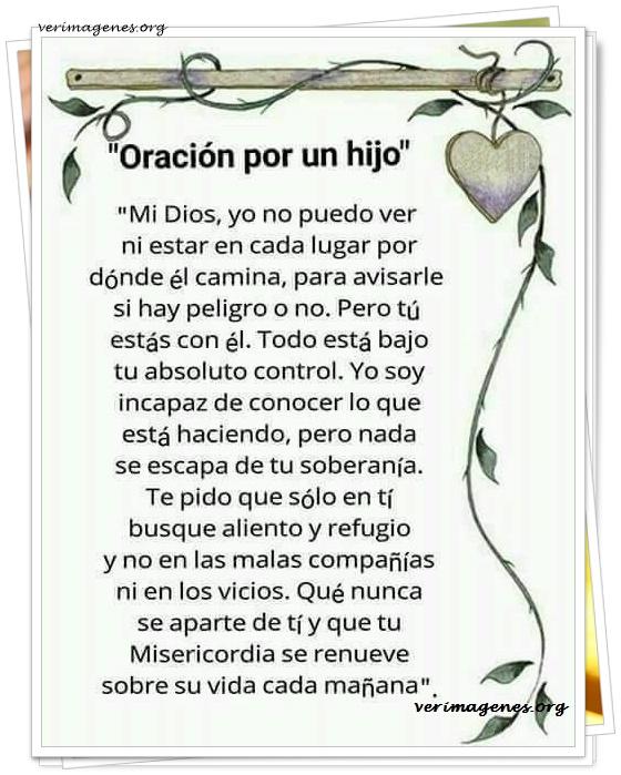 Oración por un hijo
