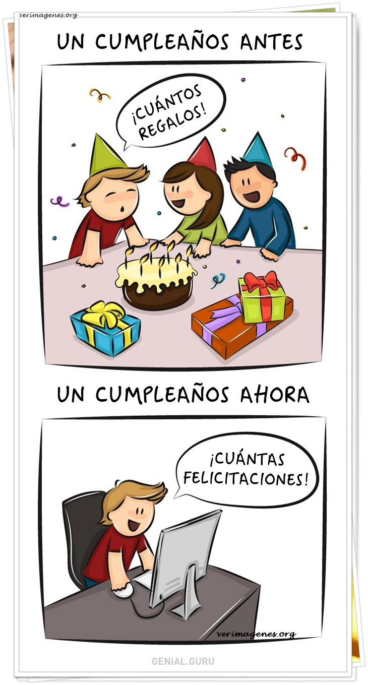 Un cumpleaños antes