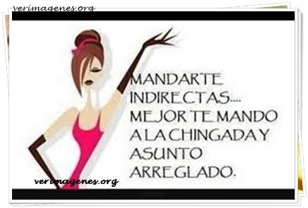 Mandarte indirectas