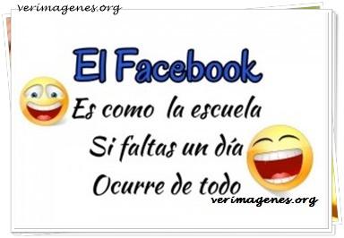 El facebook es como la escuela
