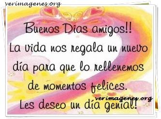 Buenos días amigos !!