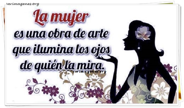Imagen La mujer es una obra de arte