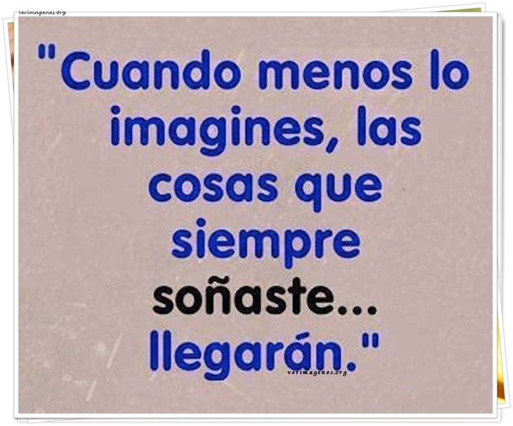 Cuando menos lo imagines