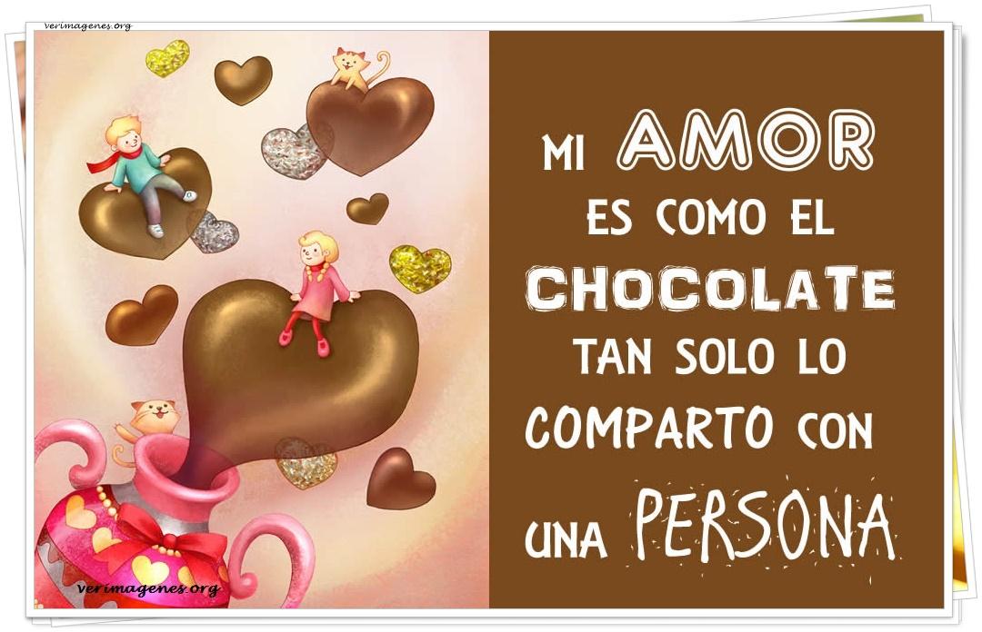 Mi amor es como el chocolate