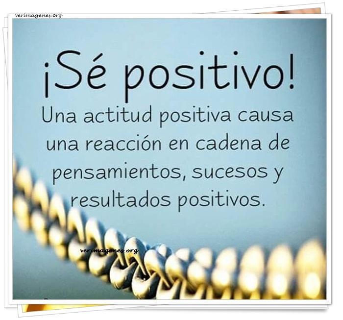 Sé positivo !!
