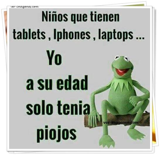 Niños que tienen tablets