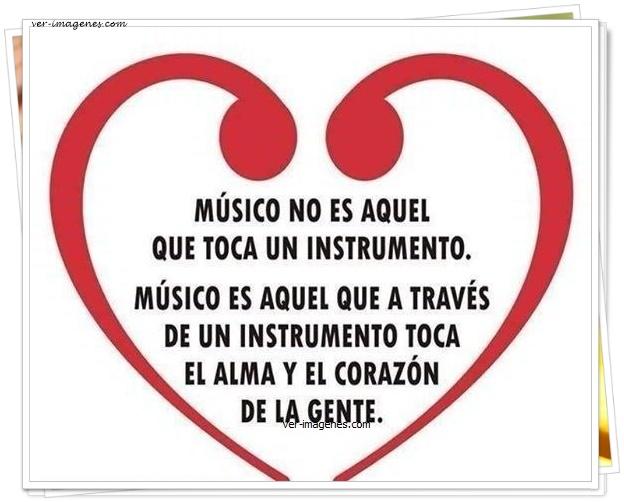 Músico no es el que toca un instrumento