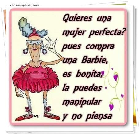 Imagen Quieres una mujer perfecta