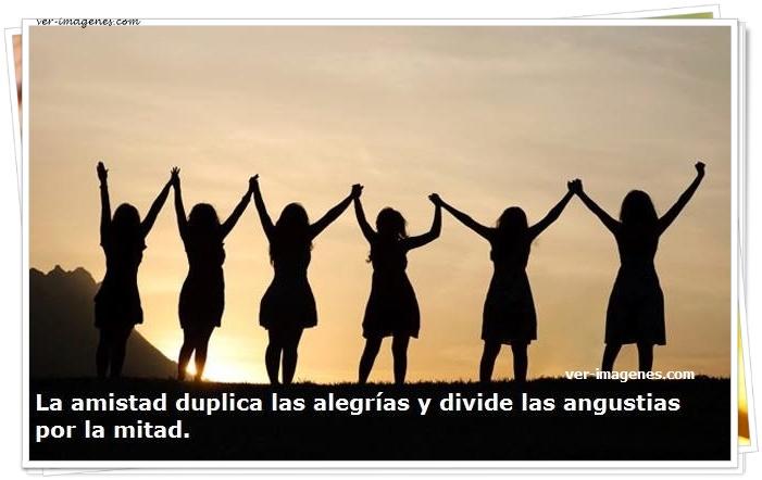 Imagen La amistad duplica las alegrías