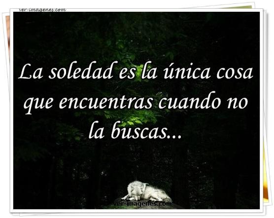 Imagen La soledad