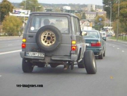 Perdida de rueda