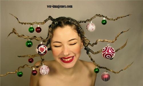Imagen Peinado arbolito Navidad