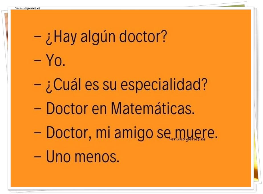 Hay algún doctor?
