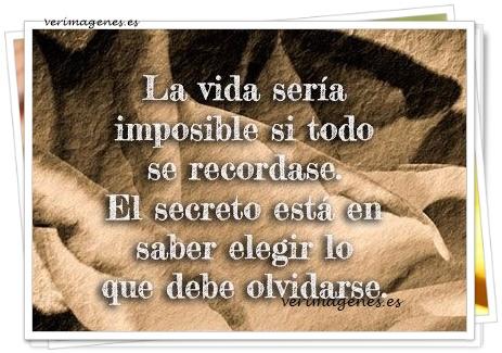 La vida sería imposible