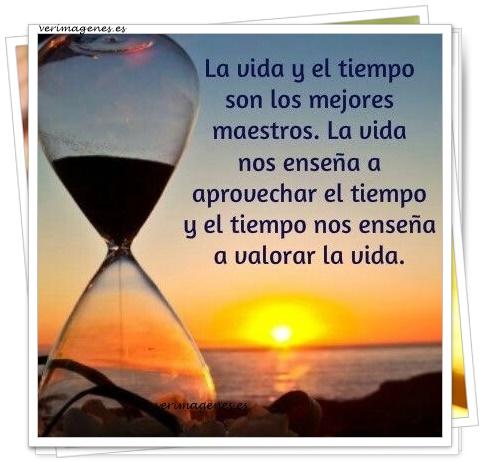 La vida y el tiempo